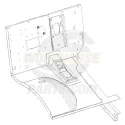 W8007292 - Dash & Toe Panel Asm (galvanized Coating, Complete)