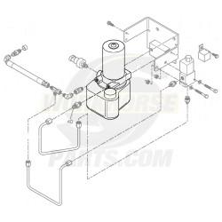 15034356  -  Pump Asm - Park Brake (with Motor)