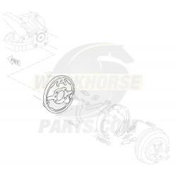 15614967  -  Plate Asm - Propshaft Park Brake