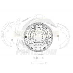 15622343  -  Rear Brake Backing Plate (LH) (JB8)