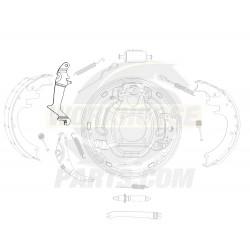 15704007  -  Lever Asm - Rear Park Brake