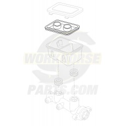 18006074  -  Diaphragm - Brake Master Cylinder Reservoir