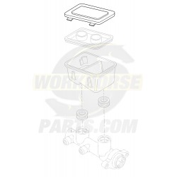 18046851  -  Cover - Brake Master Cylinder Reservoir