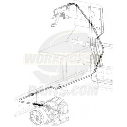 "W0000572  -  Cable Asm - Park Brake Front (138"")"