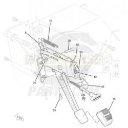 W0004780  -  Park Brake Lever Asm