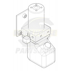 W0005234  -  Pump Asm - Park Brake (with Bracket)
