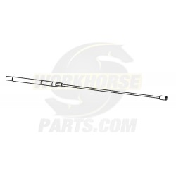 W0008144  -  Cable Asm - Parking Brake Front, Length 306mm