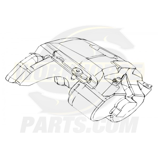 W8000481  -  Workhorse P32 Caliper Asm Front Left Hand / Rear Left Hand