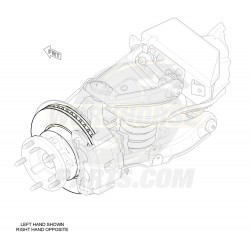 W8000529  -  Rotor - P32/P42 Front Brake (JF9 - Independent)