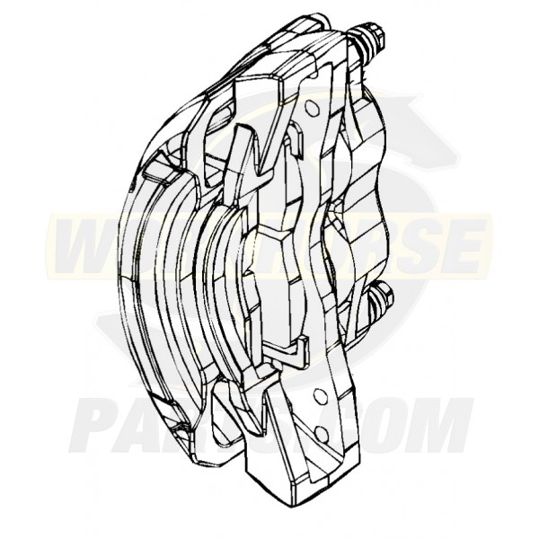W8002910  -  Caliper Asm - Brake, Front, 2x68mm Brembo (Without Pads), Right Hand Side