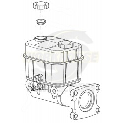 W0000036 - W20/22/24/62 Brake Master Cylinder (01-07)