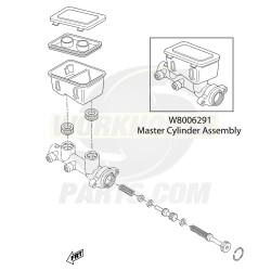W8006291  -  Brake Master Cylinder (4 Wheel Disc)