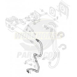 W8006743  -  Brake Hose  -  Pipe Assembly, Rear Brake Combo Valve