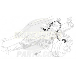 W8006747  -  Brake Hose Assembly - Front  RH (I-Beam - 4 Wheel Disc)