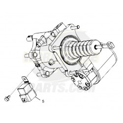 W8007134  -  Booster Asm - Hydro MaxII, with Motor