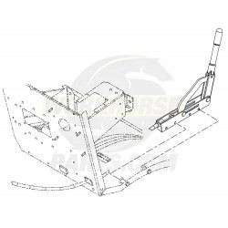 W8007359  -  Lever Asm - Park Brake