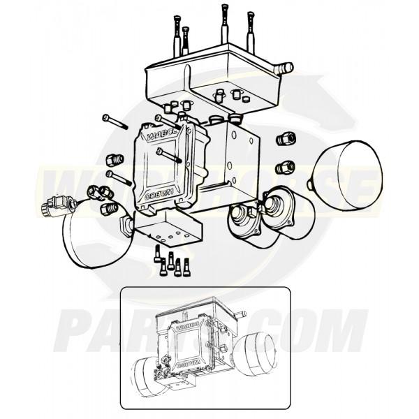W8007417  -  UFO Hydraulic Compact Unit (HCU/ECU)