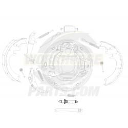 W8810100  -  Adjuster - Rear Brake Shoe (LH) (JB8)