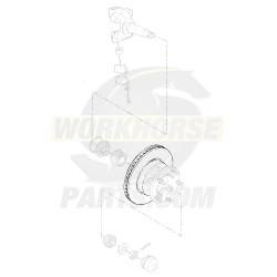 W8810506  -  Rotor - P42 Front Brake (JF9 - 4 Wheel Disc)