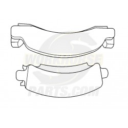 17d149mx  -  Pad Kit - Front/rear Brake