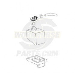14054390  -  Cap - Coolant Recovery Reservoir