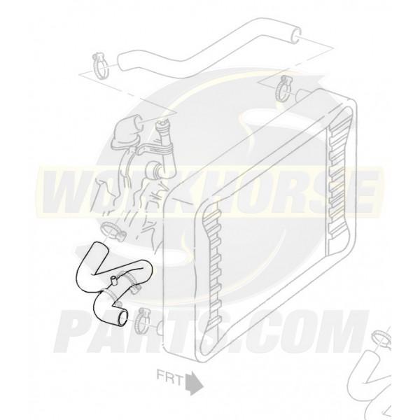 W8006624  -  Hose - Assembly Radiator Outlet (L57 - 6.5L Diesel)
