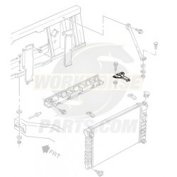 15979706  -  Bracket Asm - Radiator Upper RH