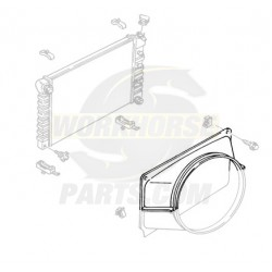 15988531 - Upper Fan Shroud Asm