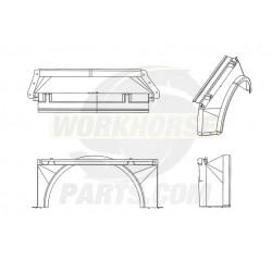 W0011866  -  Shroud - Radiator Fan Upper