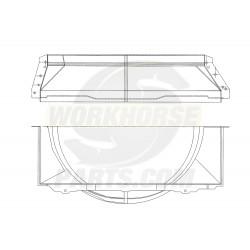 W0011905  -  Shroud - Radiator Fan Lower