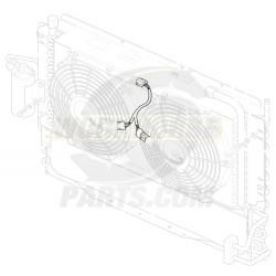 W8000074  -  A/C Fan Electrical Harness Asm