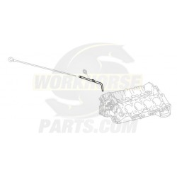 10243855 - 5.7l Engine Oil Dipstick Tube (Lower)