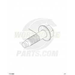 11547135 - Exhaust Manifold Bolt