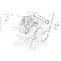 12558125  -  Hose - Oil Filler Tube