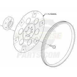 12563531  -  Flywheel Asm (Heavy Duty)