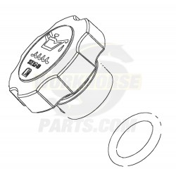 12573337  -  Oil Filler Cap Asm (4.8L & 6.0L)