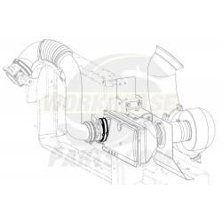 15003750  -  Elbow - Air Cleaner Outlet Duct