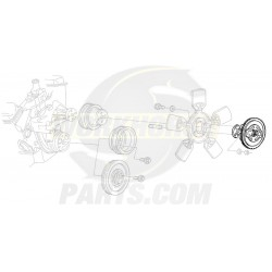 15735393  -  Clutch Asm - Fan Blade (5.7L)