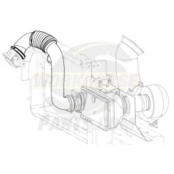 15956869  - Duct - Air Cleaner Outlet Rear Intermediate