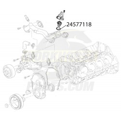 24577118 - Workhorse 8.1l Coolant Thermostat Gasket