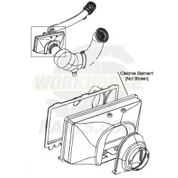 25169408  -  Air Intake Box Asm