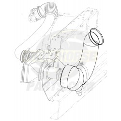 W0000508  - Inlet - Front Air Intake (Tuba)