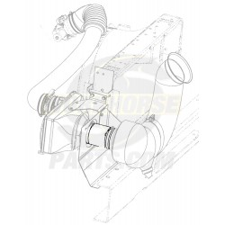 W0000564  -  Duct - Coupling Front Air Inlet