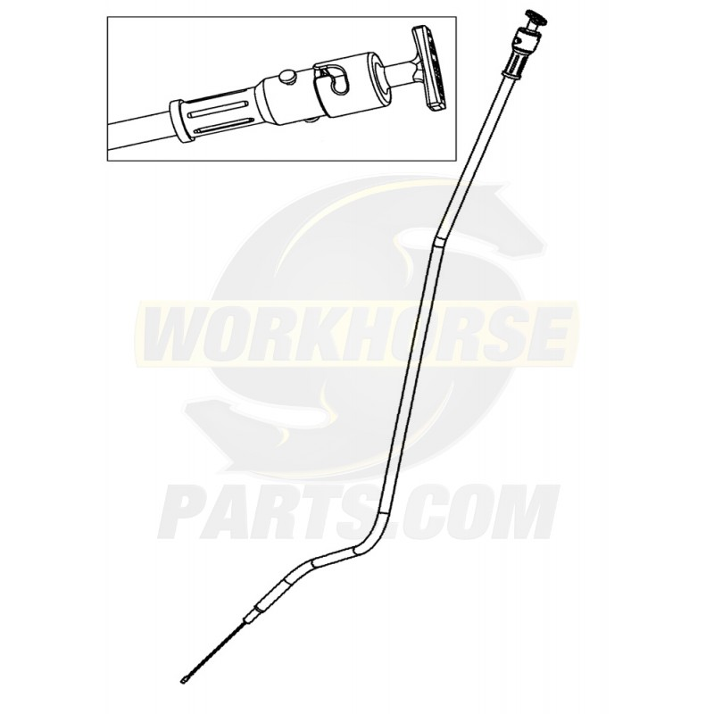 W0008273 - Tube And Dipstick Asm - Engine Oil