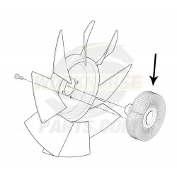 W8002567 - Clutch Fan Asm