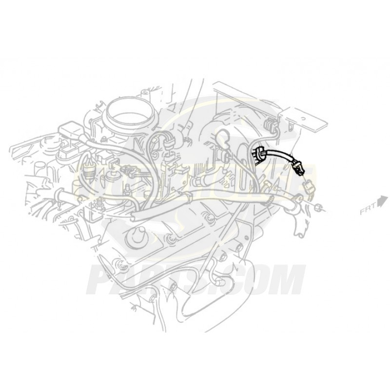 15301067 - harness asm - engine wiring harness extension  without label