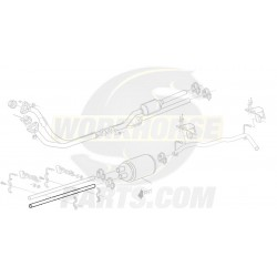"12388931  -  Pipe Asm - Exhaust, Intermediate (Length 35.72"")"
