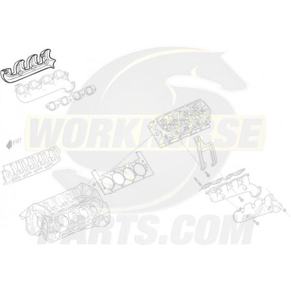 12576124  -  Exhaust Manifold Heat Shield, RH
