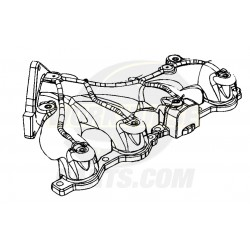 12603737 - Manifold Asm - Exhaust, LH  4.8L/6.0L (LQ4 6.0L, All 4.8L)