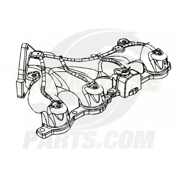12603739 -  Manifold Asm - Exhaust, RH 4.8L/6.0L (LQ4 6.0L, All 4.8L)